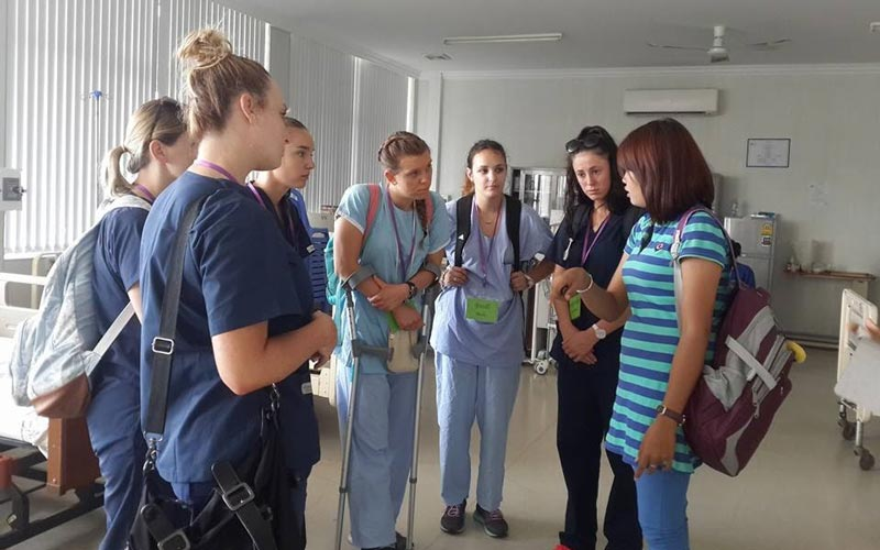healthcare support to Cambodian communities