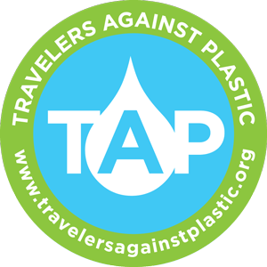 logo travelers against plastic