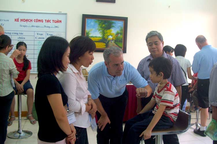 Physiotherapy in vietnam