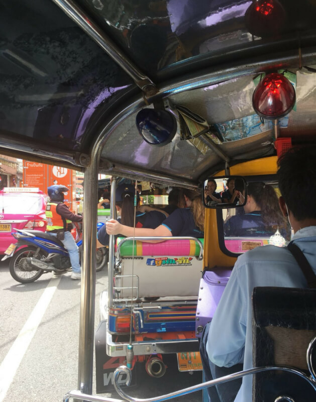 Travel like a local in Bangkok